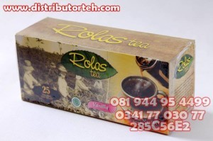 Teh Celup Rolas Vanilla