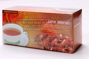 Teh Herbal Jahe Merah (Griya Herba)