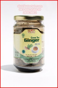 Teh Seduh Ginger Green Tea